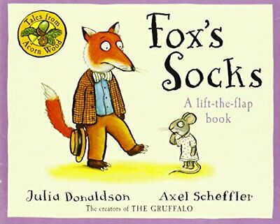 Tales From Acorn Wood: Fox's Socks by Donaldson, Julia Board book Book The Cheap
