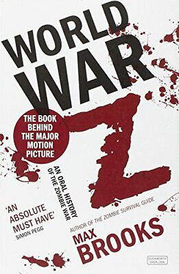 World War Z, Brooks, Max Paperback Book The Cheap Fast Free Post