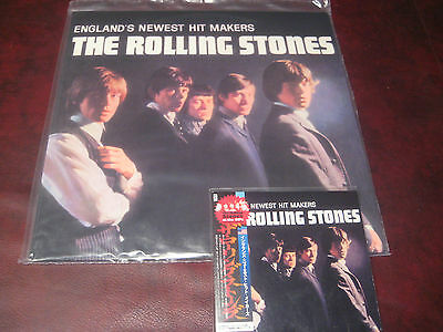Rolling Stones Hit Makers U.s.press 180 Gram Black Vinyl 2003 Lp + Japan Obi Cd