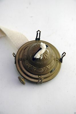 Oil Lamp Burner No. 2 Queen Ann Ornate Antique Brass OL12011408