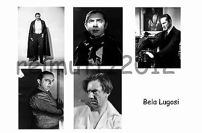 Bela Lugosi - Set Of 5 Large Photo Prints