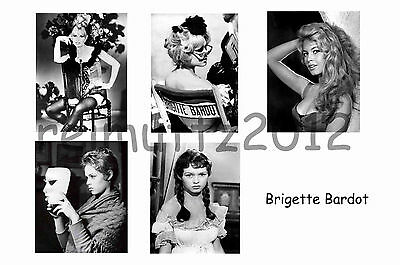 Brigitte Bardot - Set Of 5 Large Photo Prints