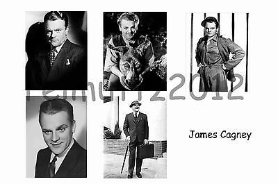 James Cagney - Set Of 5 Large Photo Prints