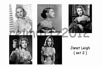 Janet Leigh - Set Of 5 Large Photo Prints #2