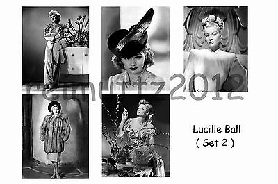 Lucille Ball - Set Of 5 Large Photo Prints # 2
