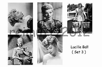 Lucille Ball - Set Of 5 Large Photo Prints # 3