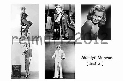 Marilyn Monroe - Set Of 5 Large Photo Prints # 3