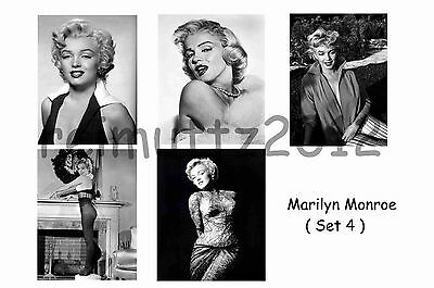 Marilyn Monroe - Set Of 5 Large Photo Prints # 4