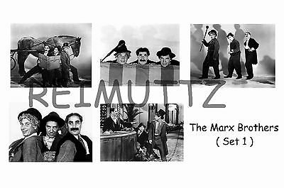 Marx Brothers - Set Of 5 Large Photo Prints # 1
