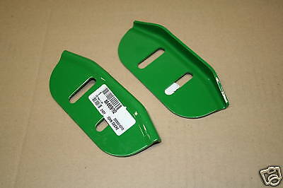 John Deere Snowblower Skid Shoes M46992 New OEM Pair