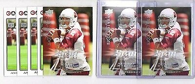 7 Card ANTHONY MORELLI 2008 NFL Rookie Lot - CARDINALS - Topps Upper Deck