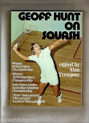#dd. 1974 Book - Geoff  Hunt On Squash