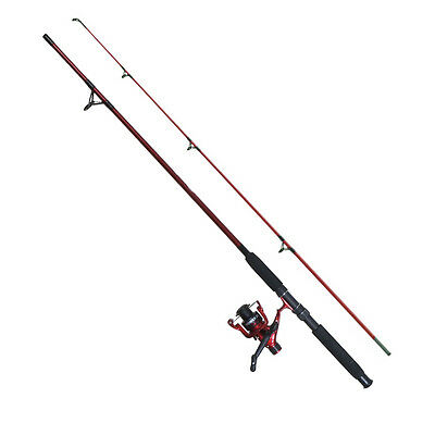 Fladen Festival Power Spinning Fishing Rod and Reel Combo 10ft River Pike