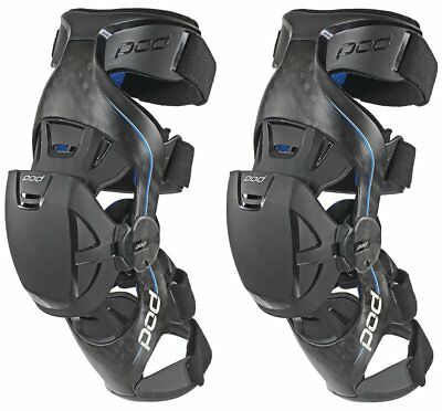 POD K8 Carbon Fiber Knee Braces Pair