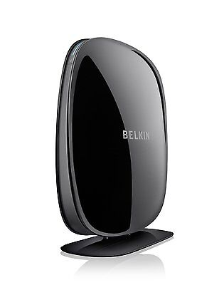 Belkin Play N600 DB Wireless Dual-Band N+ Cable Router 4-Port 600Mbps F9K1102uk