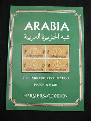 Harmers Auction Catalogue 1987 Arabia The 'harry Hibbert' Collection