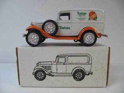 Tropicana Florida Squeezed 1932 Panel Delivery Die Cast Bank  NIB  1/25 ERTL
