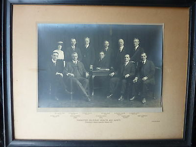 Connecticut General Assembly 1921 Committee PUBLIC HEALTH LARGE photo 22 x 17