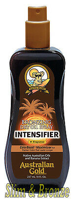 Australian Gold BRONZING DRY OIL Spray Intensifier With ColorBoost Fast Dispatch