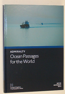 British Admiralty Publication - Np136 Ocean Passages For The World 2014 - New