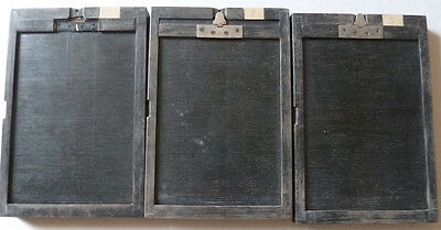 3 Chassis Photos 9,5 x 14,5 cm Vers 1930