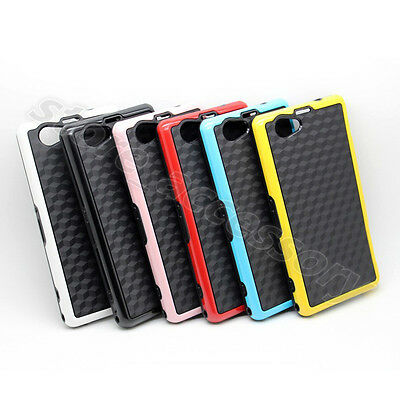 Bicolor Dirtproof Defender Case For Various Cellphone Back Cover Hybird TPU Skin
