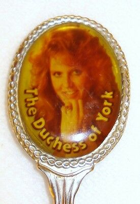 *DUCHESS of YORK - VINTAGE SILVERPLATED COLLECTORS SPOON - SCARCE R2