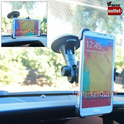 Car Windshield Mobile Phone L Mount Holder Fit Samsung Galaxy Note/S/EDGE Plus