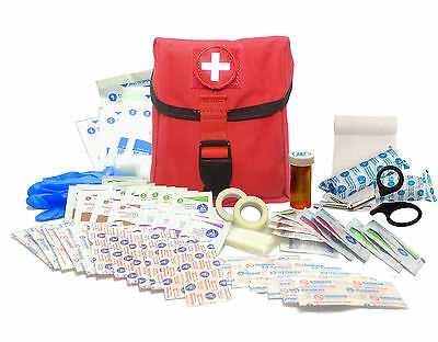 New Recruit First Aid Kit - Military IFAK Army Medic - RED - #FA15