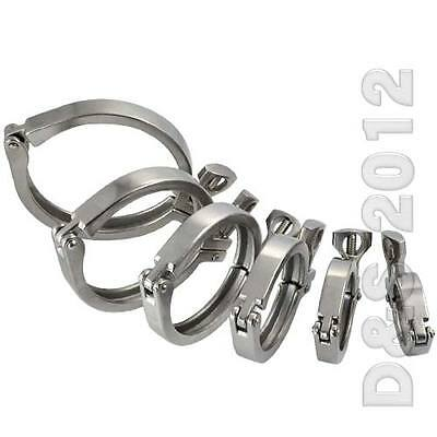 """1.5"""" - 4"""" Tri Clamp Clover SUS316 Stainless Steel for OD Ferrule 50.5MM - 115MM"""