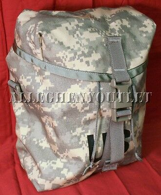 MOLLE II ACU Digital Sustainment Pouches for Rifleman's Rucksack Back Pack NEW
