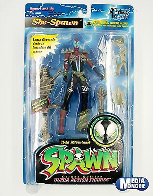 Mc Farlayne Toys® Spawn® Ultra-Action Figures 1996 Figuren: She-Spawn OVP MOC