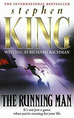 The Running Man, King, Stephen Paperback Book The Cheap Fast Free Post