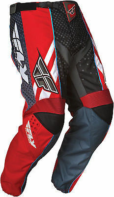 NEW FLY RACING F-16 F 16  ATV  MX BMX MTB RACING PANTS Red size 30
