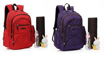 New Waterproof Backpack Baby Nappy Changing Bag Diaper Bag Mummy Bag--8319