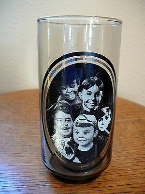 ARBY'S 1979 - OLD TIME HOLLYWOOD CINEMA PROMO GLASS - THE LITTLE RASCALS   - EX