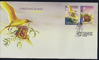 Christmas Island 2010 Christmas First Day Cover