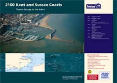 IMRAY CHART PACK 2100 KENT & SUSSEX COASTS - Latest 2015 Edition - NEW