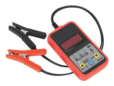 Sealey 12v Auto/Van/Veicolo Digitale Paravento Batteria & Alternatore Tester