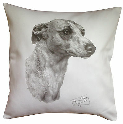 Whippet MS Breed of Dog Themed Cotton Cushion Cover - Perfect Gift