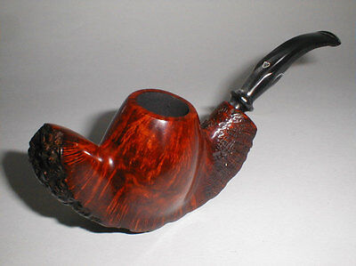 Alpha of Israel Bent Freehand Pipe * Clean! * COOPERSARK NO RESERVE!