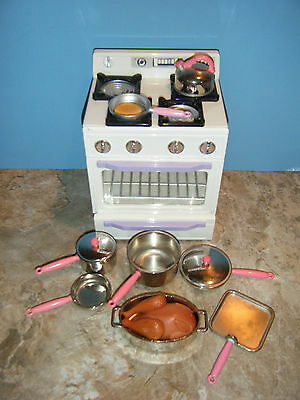 Tyco Kitchen Littles Deluxe Stove Playset Plus Extras