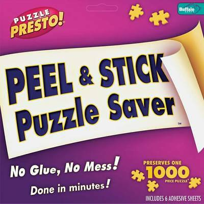 NEW Buffalo Games Puzzle Presto Peel/Stick Puzzle Saver 9202