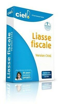Ciel Liasses Fiscales 2012 - version CVAE - LIASSES FISCALES FR NEUF
