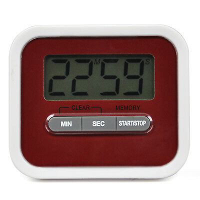 TRIXES Digital Kitchen Timer Stopwatch Food Alarm Magnet Stand Exercise Beeper
