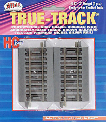 NEW Atlas 3  Straight True-Track (4) HO 452