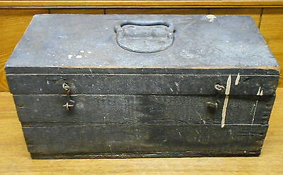 Old Country Rustic Wood Tool Box