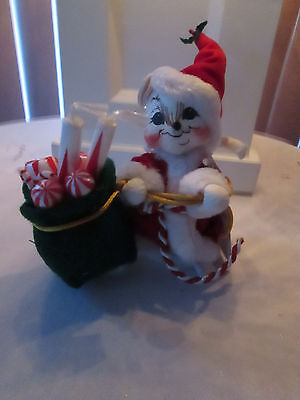 Annalee Doll 6 inch Christmas Mr. Santa Mouse 2005 NMWT