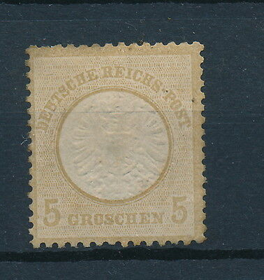 [88186] Germany 1872 Good stamp Very Fine Mint no gum sign