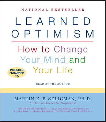 NEW 2 CD Learned Optimism Martin Seligman (9781442341135)
